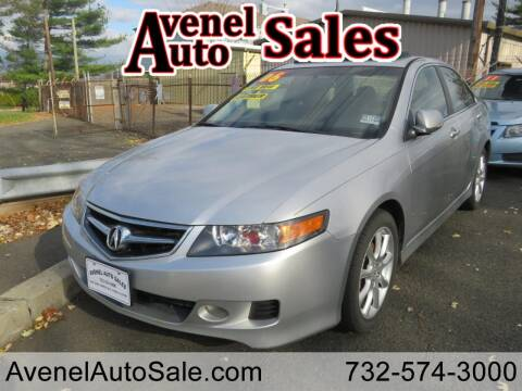 2006 Acura TSX for sale at Avenel Auto Sales in Avenel NJ