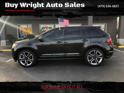 2013 Ford Edge for sale at Buy Wright Auto Sales in Rogers AR