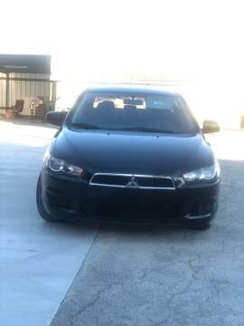 2014 Mitsubishi Lancer for sale at JR Auto Inc in San Antonio TX