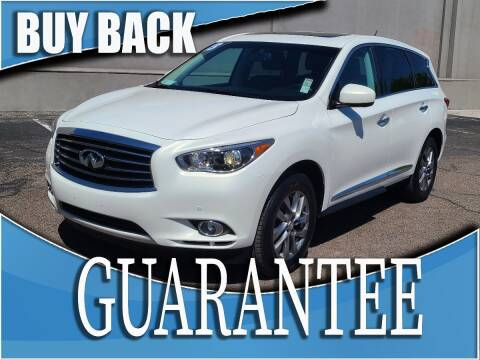 2013 Infiniti JX35 for sale at Reliable Auto Sales in Las Vegas NV