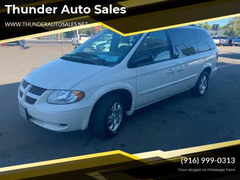 2002 Dodge Grand Caravan for sale at Thunder Auto Sales in Sacramento CA