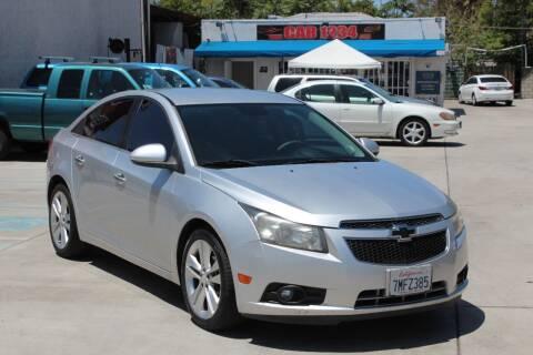 2013 Chevrolet Cruze for sale at Car 1234 inc in El Cajon CA
