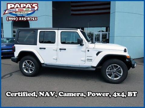 2018 Jeep Wrangler Unlimited for sale at Papas Chrysler Dodge Jeep Ram in New Britain CT
