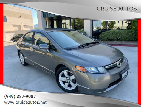 2007 Honda Civic for sale at Cruise Autos in Corona CA