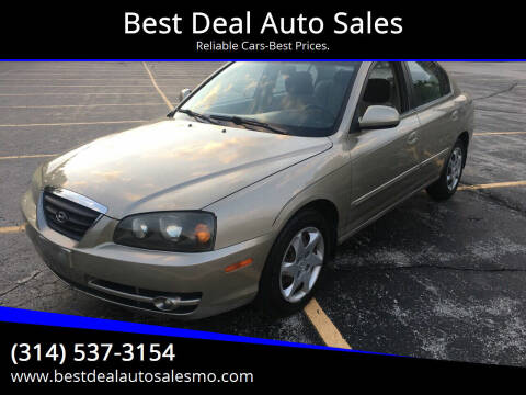 2005 Hyundai Elantra for sale at Best Deal Auto Sales in Saint Charles MO