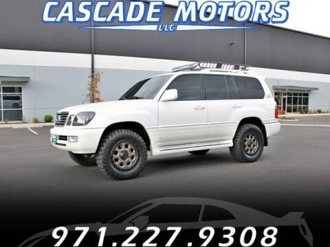 2006 Lexus LX 470 for sale at Cascade Motors in Portland OR