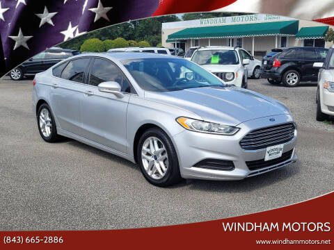 2014 Ford Fusion for sale at Windham Motors in Florence SC