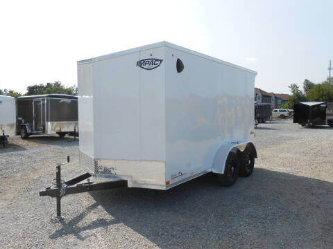 2021 Impact Quake 7x12 for sale at Jerry Moody Auto Mart - Trailers in Jeffersontown KY