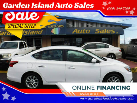 2017 Nissan Sentra for sale at Garden Island Auto Sales in Lihue HI
