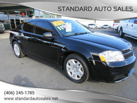 2011 Dodge Avenger for sale at Standard Auto Sales in Billings MT