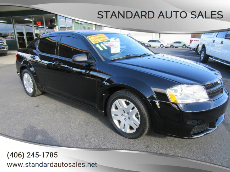 2011 Dodge Avenger for sale at Standard Auto Sales in Billings MT