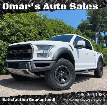 2017 Ford F-150 for sale at Omar's Auto Sales in Martinez GA
