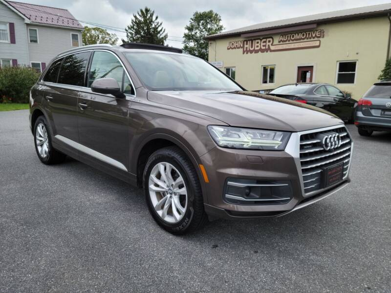 2018 Audi Q7 for sale at John Huber Automotive LLC in New Holland PA