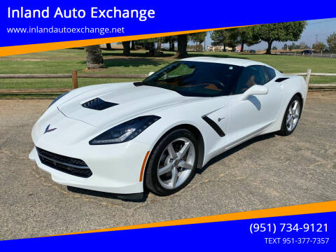 2014 Chevrolet Corvette for sale at Inland Auto Exchange in Norco CA