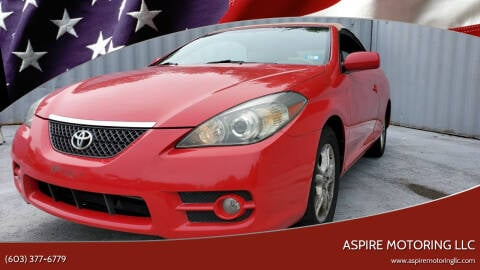 2007 Toyota Camry Solara for sale at Aspire Motoring LLC in Brentwood NH