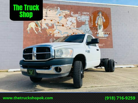 2009 Dodge Ram Chassis 3500 for sale at The Truck Shop in Okemah OK
