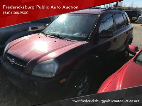 2005 Hyundai Tucson for sale at FPAA in Fredericksburg VA