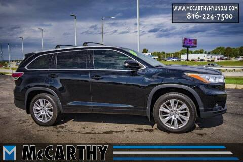2016 Toyota Highlander for sale at Mr. KC Cars - McCarthy Hyundai in Blue Springs MO
