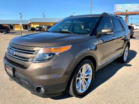 2015 Ford Explorer for sale at Performance Motors Killeen Second Chance in Killeen TX