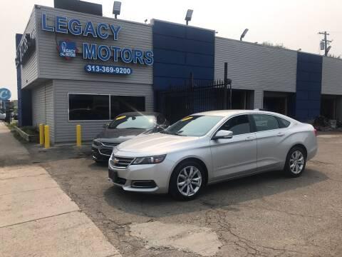 2016 Chevrolet Impala for sale at Legacy Motors in Detroit MI