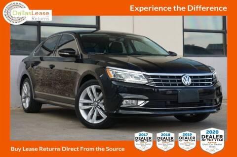 2017 Volkswagen Passat for sale at Dallas Auto Finance in Dallas TX