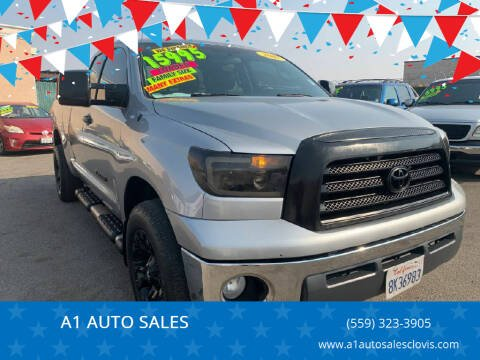 2007 Toyota Tundra for sale at A1 AUTO SALES in Clovis CA