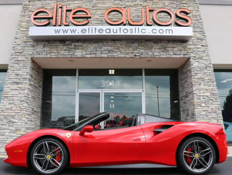 2017 Ferrari 488 Spider for sale at Elite Autos LLC in Jonesboro AR