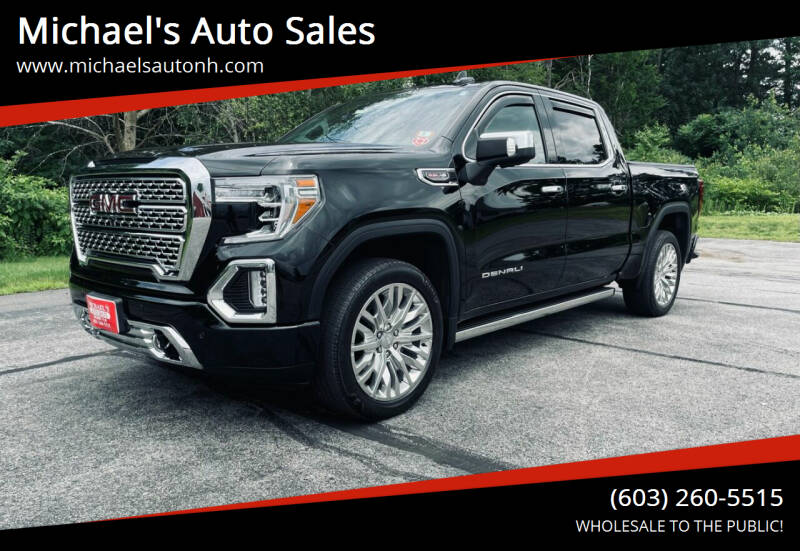 2019 GMC Sierra 1500 for sale at Michael's Auto Sales in Derry NH