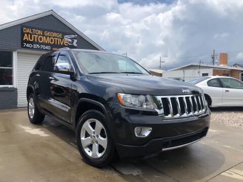2012 Jeep Grand Cherokee for sale at Dalton George Automotive in Marietta OH