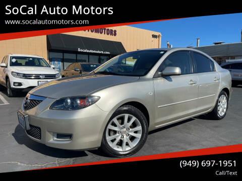 2007 Mazda MAZDA3 for sale at SoCal Auto Motors in Costa Mesa CA
