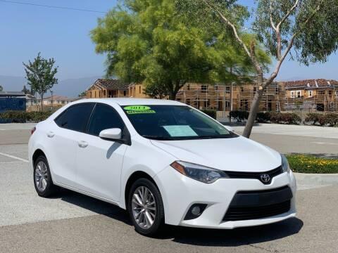 2014 Toyota Corolla for sale at Esquivel Auto Depot in Rialto CA
