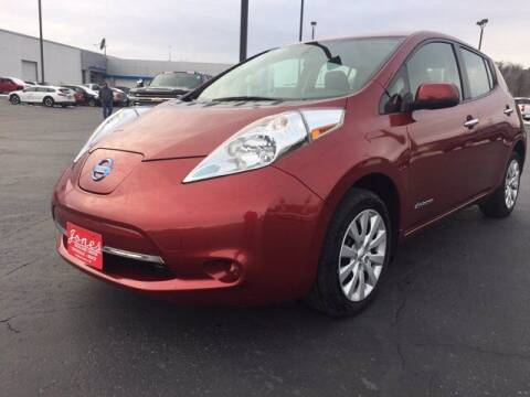 2015 Nissan LEAF for sale at Jones Chevrolet Buick Cadillac in Richland Center WI