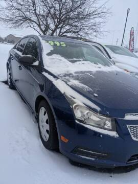 2012 Chevrolet Cruze for sale at 309 Auto Sales LLC in Harrod OH