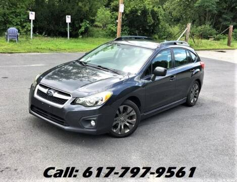 2012 Subaru Impreza for sale at Wheeler Dealer Inc. in Acton MA