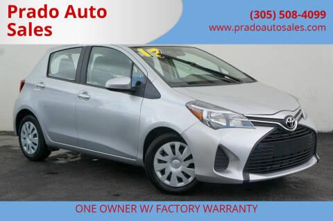2017 Toyota Yaris for sale at Prado Auto Sales in Miami FL