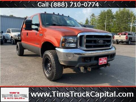 2000 Ford F-250 Super Duty for sale at TTC AUTO OUTLET/TIM'S TRUCK CAPITAL & AUTO SALES INC ANNEX in Epsom NH