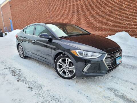 2017 Hyundai Elantra for sale at Minnesota Auto Sales in Golden Valley MN
