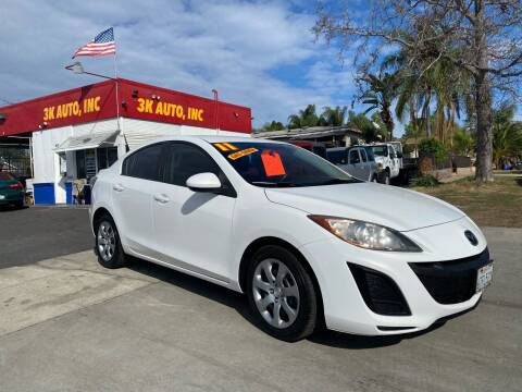 2011 Mazda MAZDA3 for sale at 3K Auto in Escondido CA