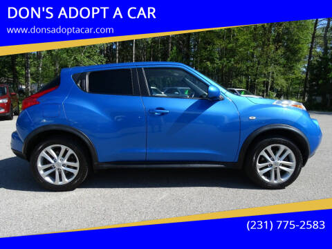 2012 Nissan JUKE for sale at DON'S ADOPT A CAR in Cadillac MI