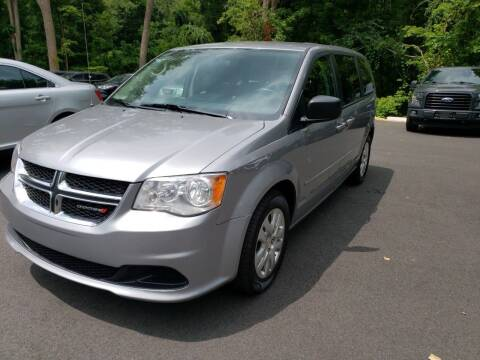 2016 Dodge Grand Caravan for sale at KLC AUTO SALES in Agawam MA