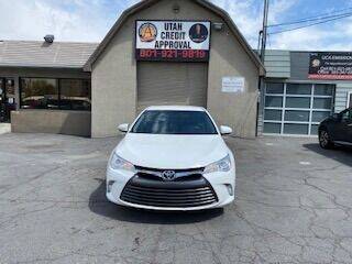 2016 Toyota Camry for sale at Utah Credit Approval Auto Sales in Murray UT