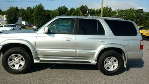 2000 Toyota 4Runner for sale at Kelly & Kelly Supermarket of Cars in Fayetteville NC