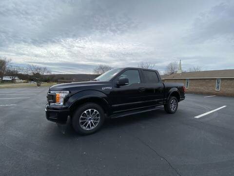 2018 Ford F-150 for sale at Tennessee Valley Wholesale Autos LLC in Huntsville AL