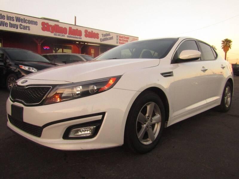 2015 Kia Optima for sale at Van Buren Motors in Phoenix AZ