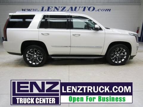 2015 Cadillac Escalade for sale at LENZ TRUCK CENTER in Fond Du Lac WI