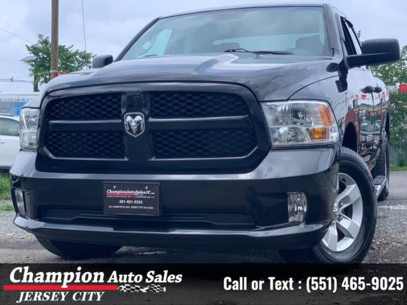 2018 RAM Ram Pickup 1500 for sale at CHAMPION AUTO SALES OF JERSEY CITY in Jersey City NJ