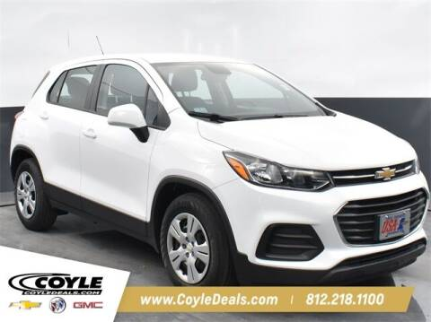 2018 Chevrolet Trax for sale at COYLE GM - COYLE NISSAN - New Inventory in Clarksville IN