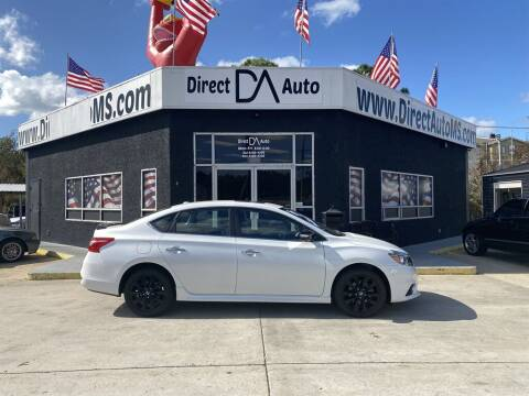 2017 Nissan Sentra for sale at Direct Auto in D'Iberville MS