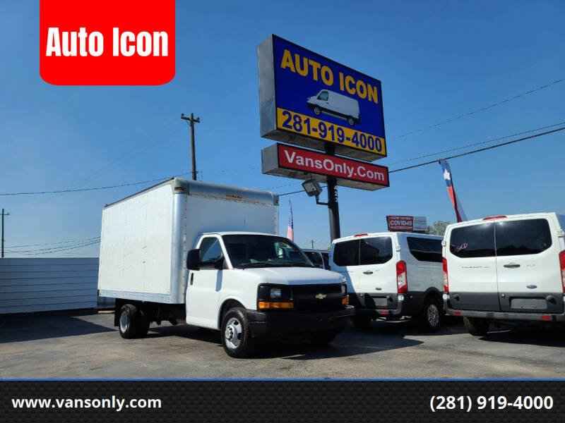 2014 Chevrolet Express Cutaway for sale at Auto Icon in Houston TX