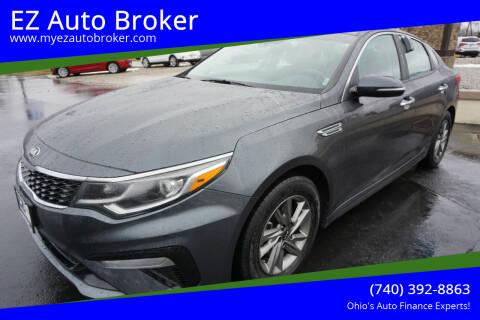 2020 Kia Optima for sale at EZ Auto Broker in Mount Vernon OH